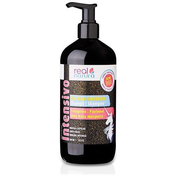 pro acido unicornio shampoo real natura jorgegoncalves