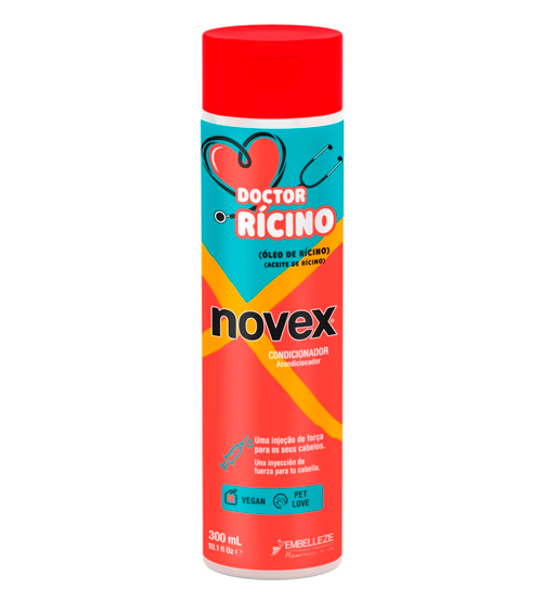 novex doctor ricino condicionador 300ml