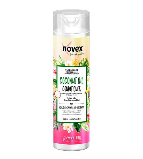 novex oleo de coco condicionador 300ml