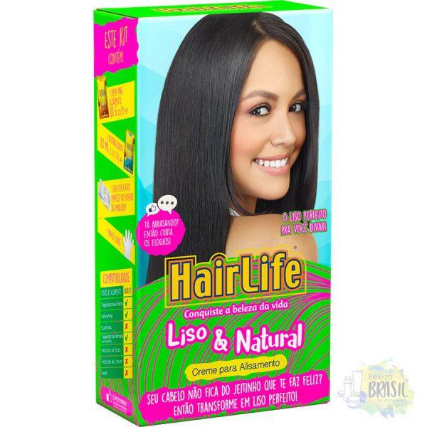 kit relaxamento e ondulamento hairlife cachonatural embelleze 80g80g