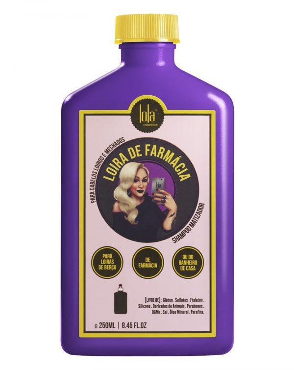 loira de farmacia shampoo matizador