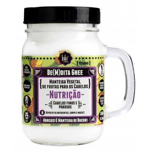lola cosmetics be m dita ghee nutricao abacaxi manteiga de bacuri 300gcabelo perfeito9208 a9059