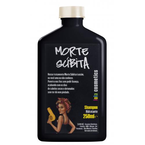 lola cosmetics morte subita shampoo hidratante 250mlcabelo perfeito9006 a10013