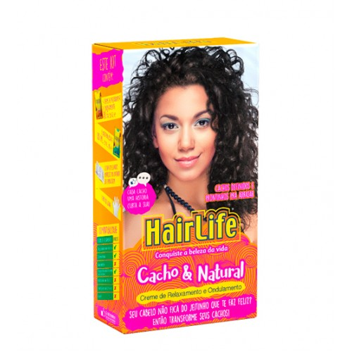novex hair life kit relaxamento e ondulamento cacho natural