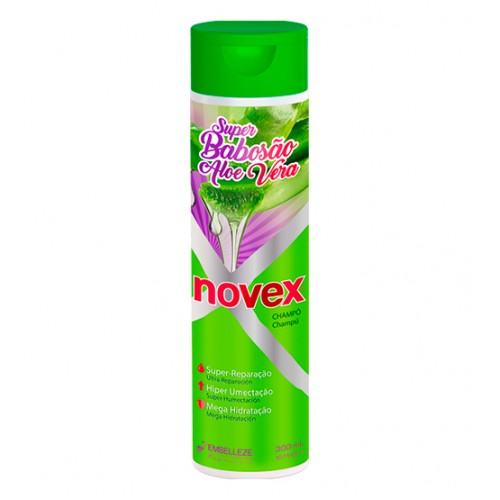 novex super babosao aloe vera shampoo 300ml