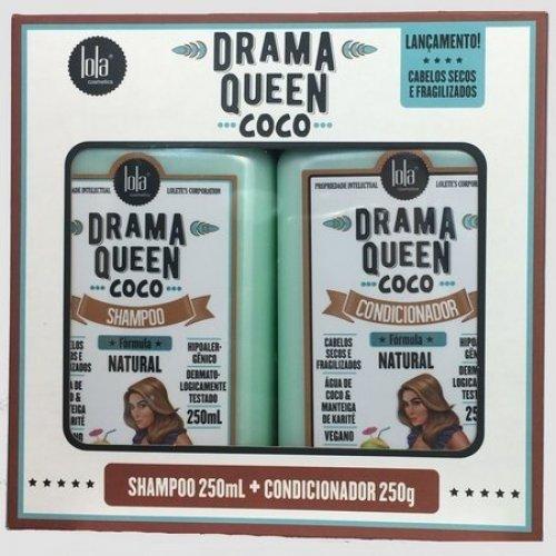 lola cosmetics drama queen coco kit 2 produtos 3806