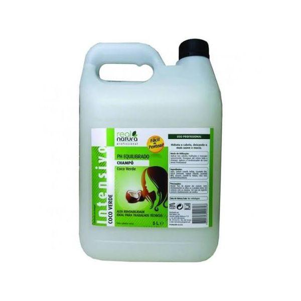 510299 3 real natura coco verde shampoo 5l