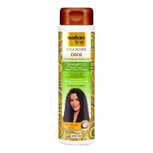610542 shampoo salon line s o s cachos coco 300ml