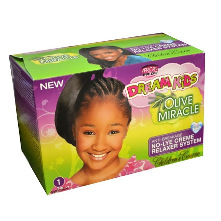 AFRICAN PRIDE NO LYE CREME RELAXER SYS 1