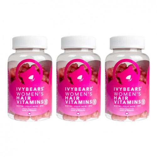 ivybears hair vitamins for women 150g 3 meses 2020
